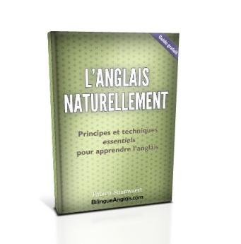 Couverture du livre L'anglais naturellement