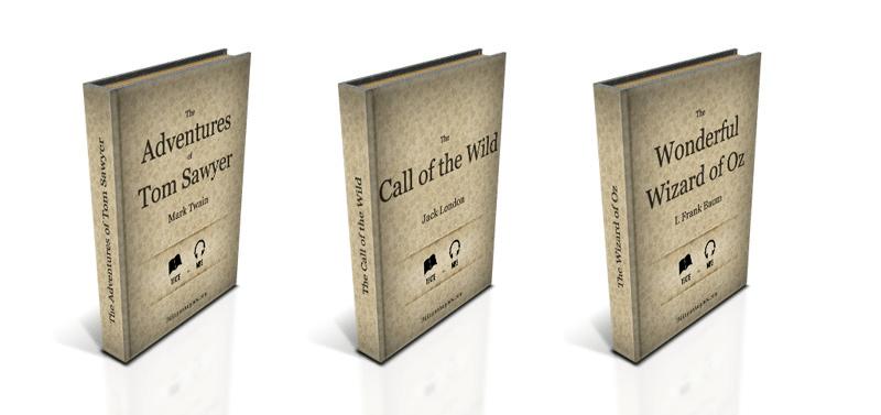 Couverture de 3 classiques de la littérature