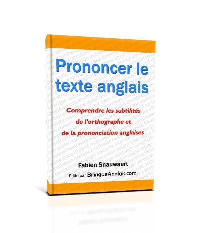 Couverture de Prononcer le texte anglais